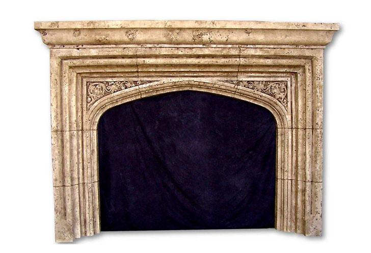 Tudor Style Fireplaces English Gothic Home Krafts