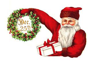 Digital Santa Clip Art