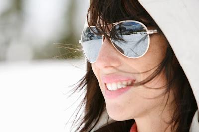 Sunglasses in the Winter