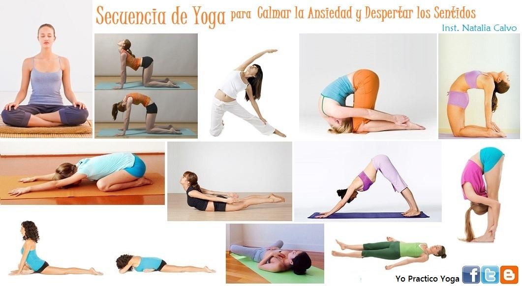 Calmar Ansiedad Sentidos Yo Practico Yoga Para La Despertar