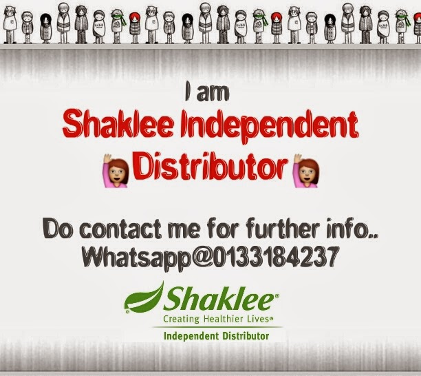I am your Shaklee Independent Distributor