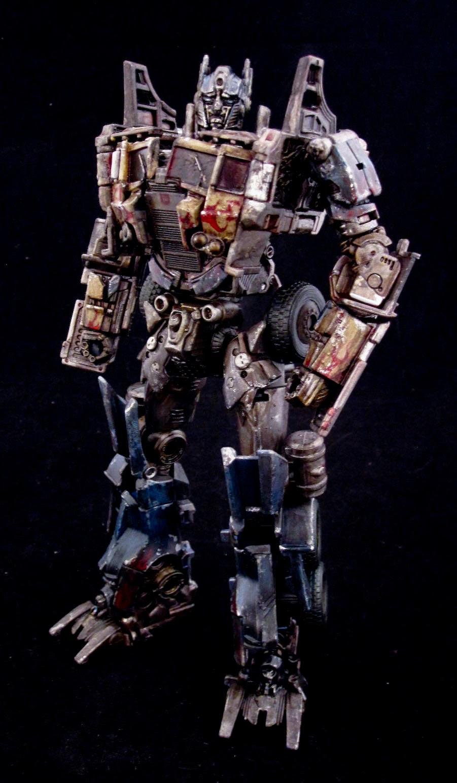 Transformers 4: Age of Extinction evasion mode Optimus ...