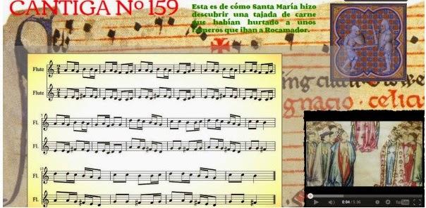 http://profedemusicaeso.wix.com/cantiga159