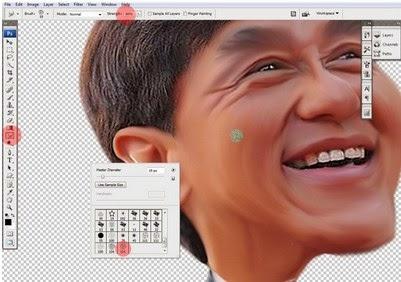 Tutorial Cara Membuat Karikatur Dengan Photoshop