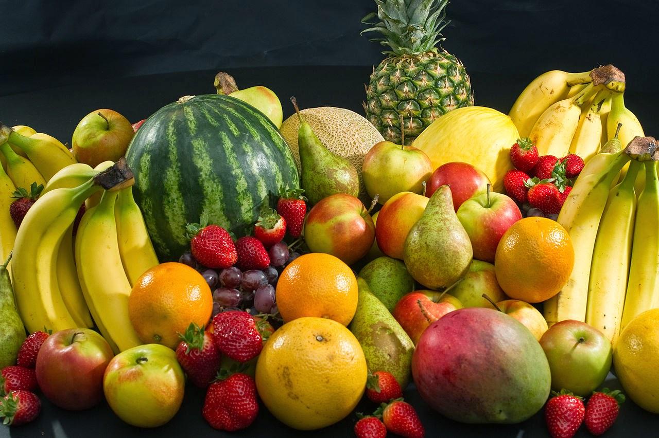 hidratación y frutas