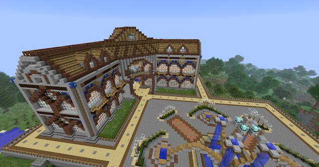Maison En Bois Minecraft : minecraft la maison c c house minecraft la maison c c house minecraft