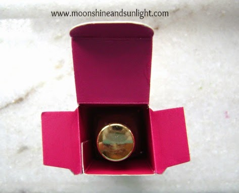 Oriflame Giordani Gold Lacque Brilliance in Pink Carat Review, Swatches and price in India
