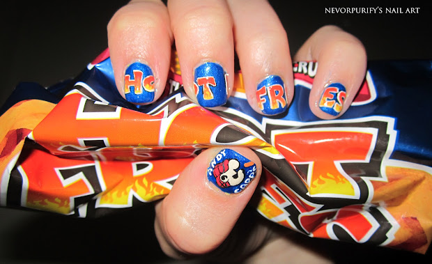 hot fries nevorpurify's nail