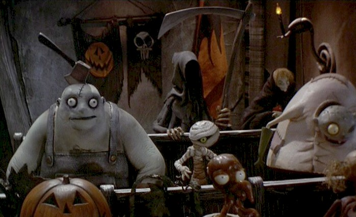flags from the nightmare before christmas 1993 - Halloweentown Nightmare Before Christmas