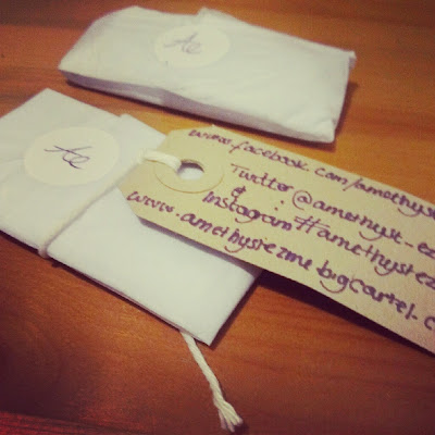 Amethyst Ezme jewellery packaging