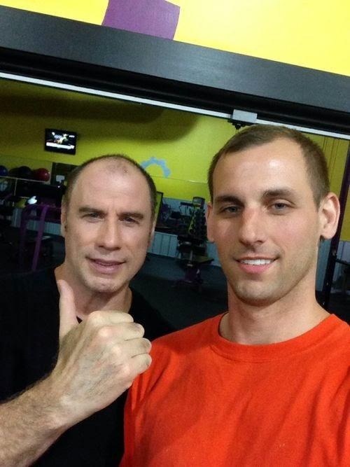 Balding: Where are John Travolta's hair out?