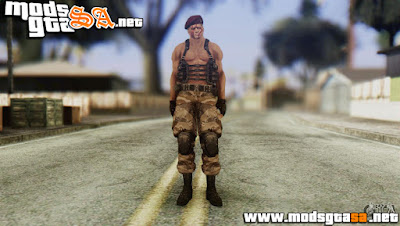 SA - Skin Jack Krauser do Resident Evil 4