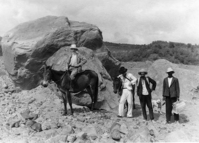 Frank Perret, 1867-1943. 1936 Royal Society Montserrat Expedition.