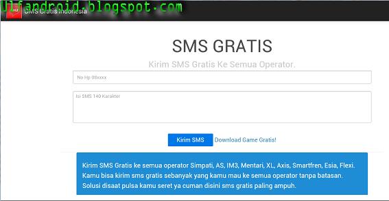 Cara Kirim SMS Gratis Di Android