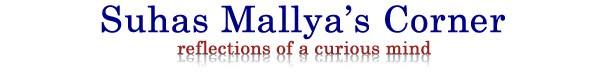 Suhas Mallya's Corner