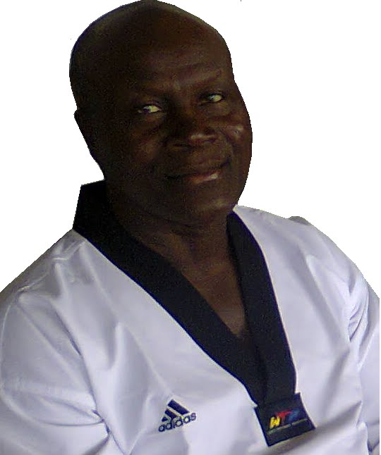 NIGERIA TAEKWONDO FIRST GENERATION BLACKBELT 1977
