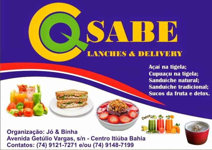 Q Sabe - Lanches & Delivery
