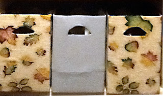 Recycled crafts:  Pretty Covered Boxes with handles