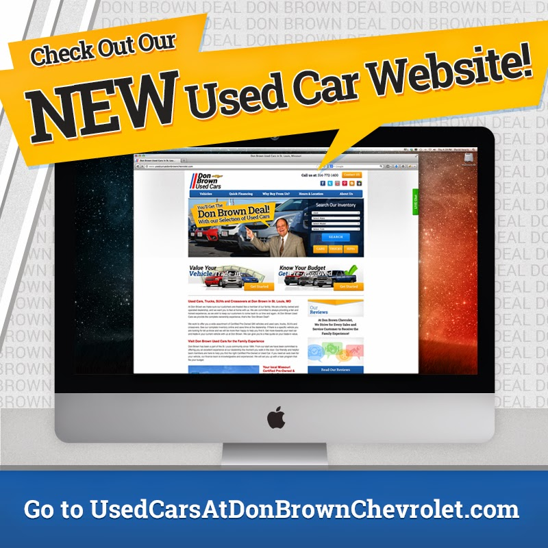 Don Brown's Used Car Website is LIVE!