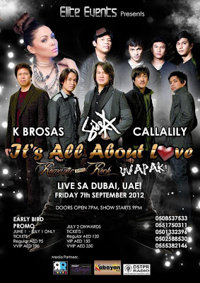It's All About Love- Side A with Callalily and K Brosas