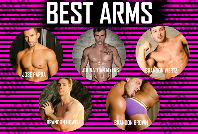 Best arms of a model OMFG awards by Andrew Christian