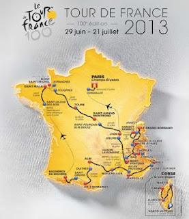 French Village Diaries Tour de France Cycling