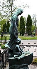 Stulen staty, Gävle