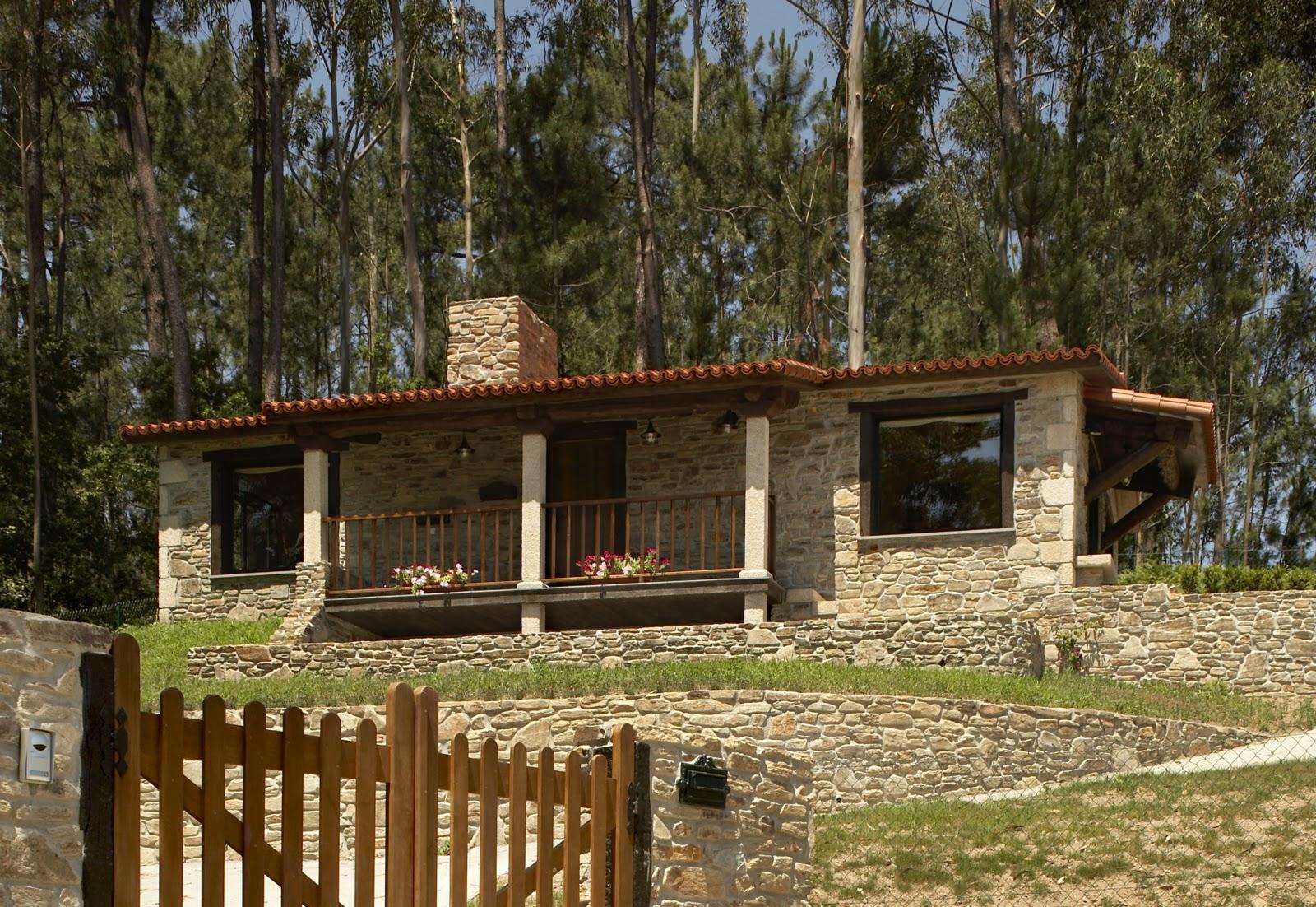 Construcciones r sticas gallegas la piedra como base - Diseno casas rurales ...