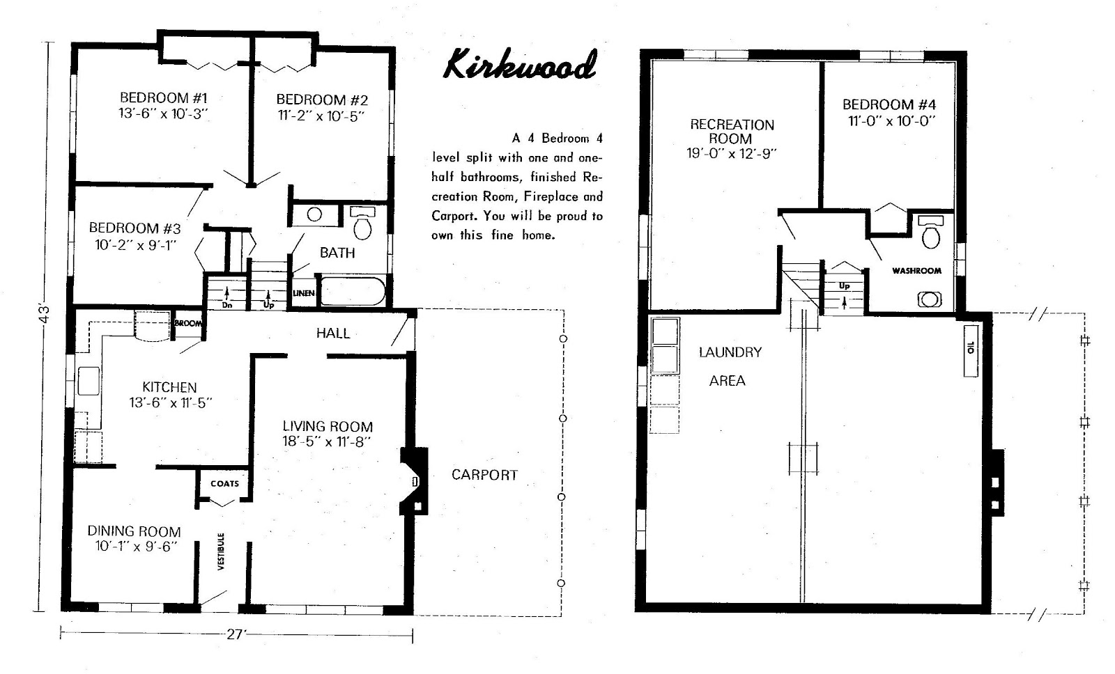 Bedroom Backsplit House Plans   ArtsSunday April