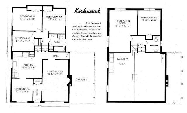 Mid century modern and 1970s era ottawa a bright idea for Backsplit floor plans
