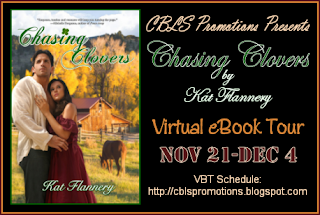 Q&A AND EXCERPT OF CHASING CLOVERS BY KAT FLANNERY