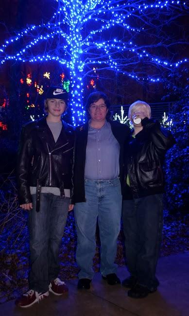 wanderlust ATLANTA Garden Lights Holiday Nights 2013