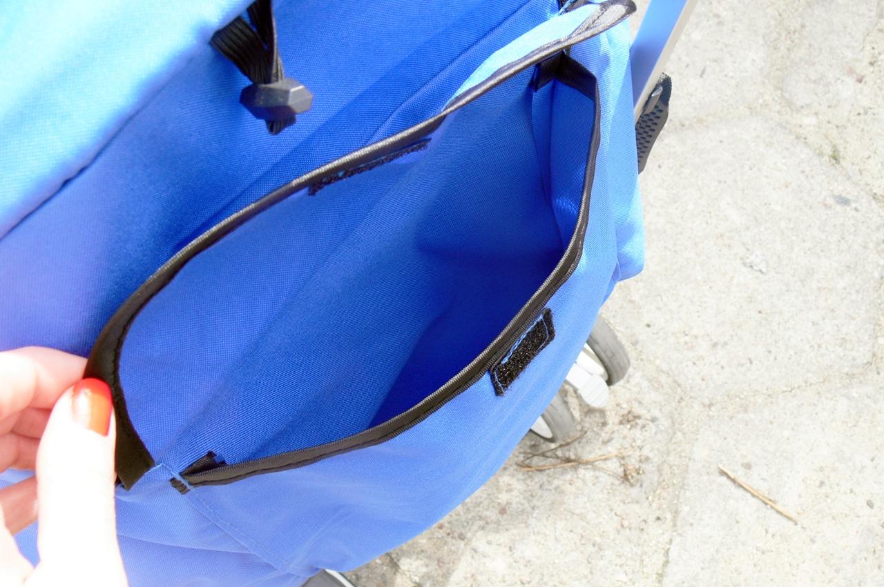 wózek Caretero Gringo kieszeń