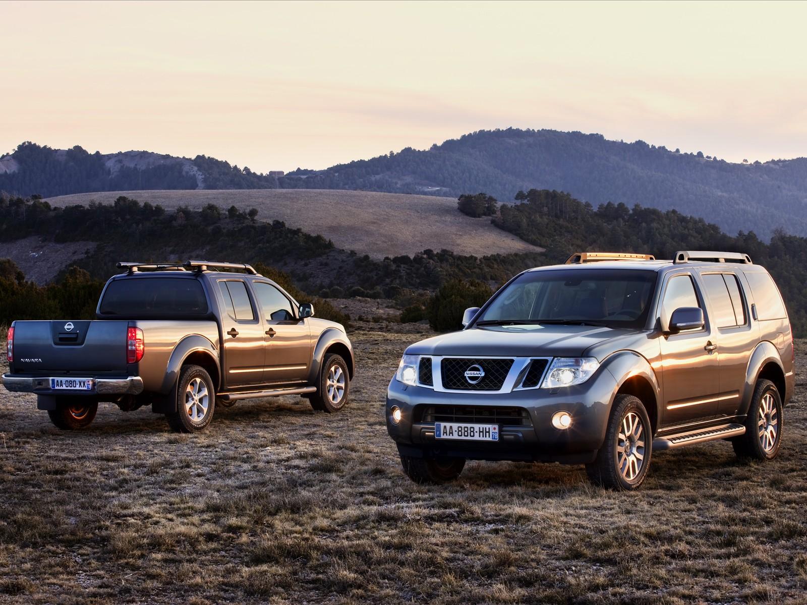 Car Pictures Nissan Pathfinder And Navara 2011