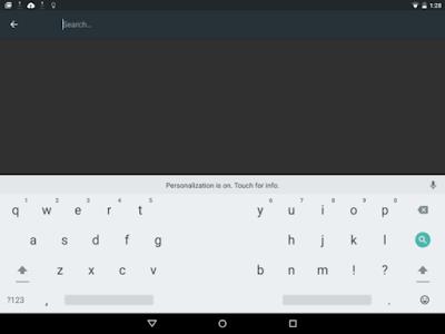 Google Keyboard Android M bisa Splilt!