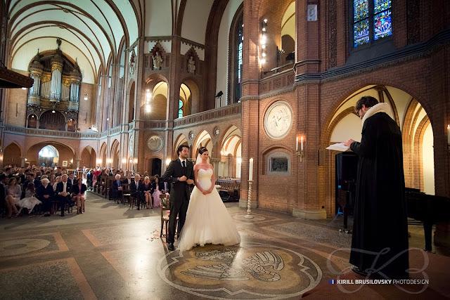 Hochzeit in St. Johannes Kirche Harvestehude