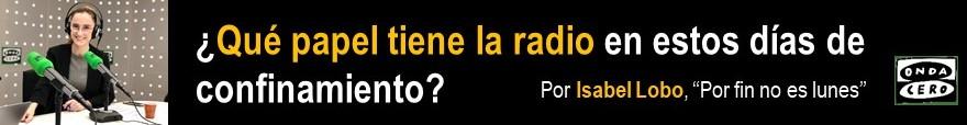 LA RADIO Y EL CORONAVIRUS