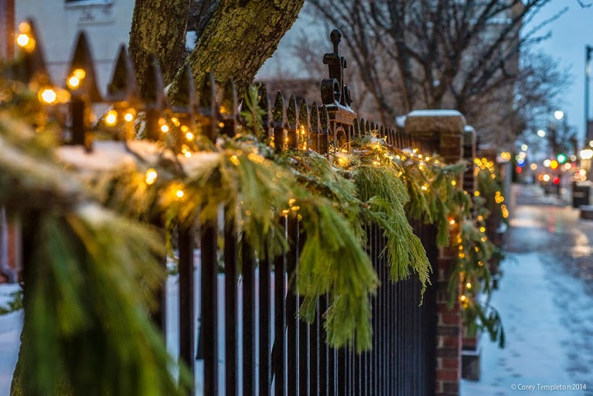 December 2014 Henry Wadsworth-Longfellow House Congress Street Fence Portland, Maine Photo by Corey Templeton