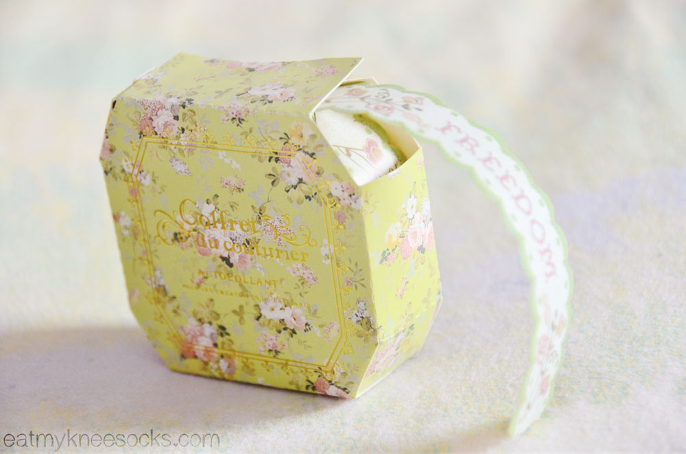 Find lace deco tape and other cute stationery/DIY/scrapbooking items from Kawaii Box!