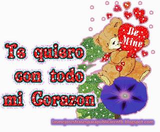 Frases De Amor: Te Quiero Con Todo Mi Corazón