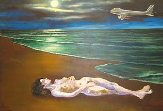 [Antonio Berni - Playa mujer desnuda]