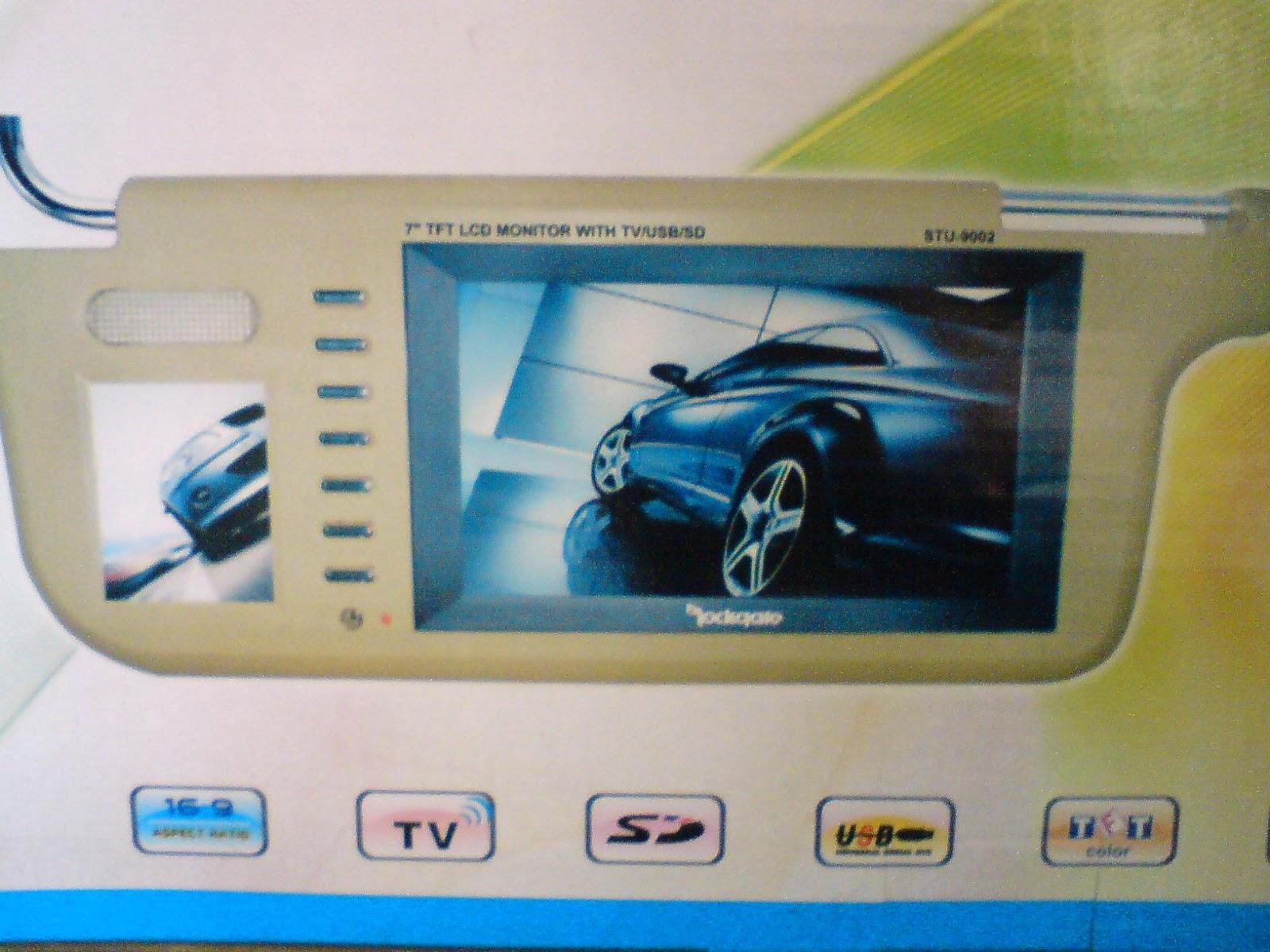 Harga Jual Tv Sunvisor Mobil Avt And 6000 Avelino An 922eg Head Plafon Roof Berbagai Jenis Monitor Catatan Kerja Saya