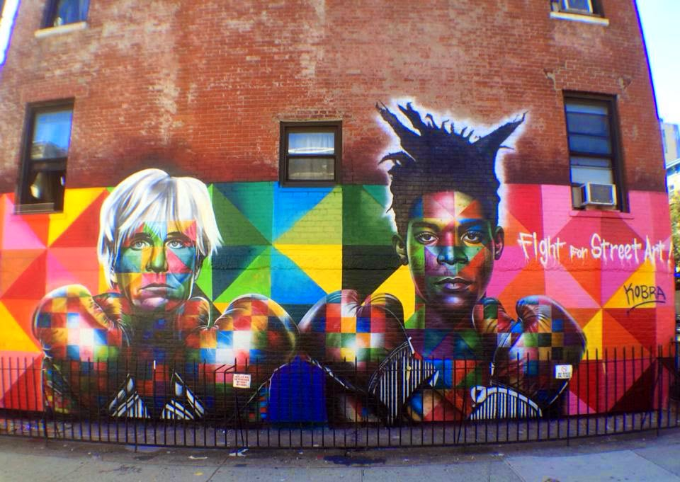 While we last heard from him last month in Sweden, Kobra is now in New York City where he just wrapped up this brand new piece.