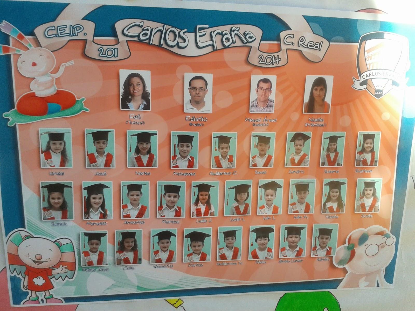 Los peques de feli nuestra graduaci n lunes de la for Aprendemos jugando jardin infantil
