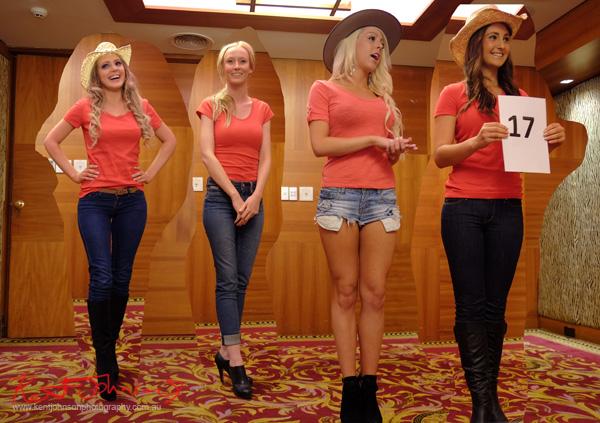 Centelle Winstanley, Sarah Stearman, Georgia Webborn, Michelle Rimmer, Miss Earth Australia - Behind The Scenes 2012