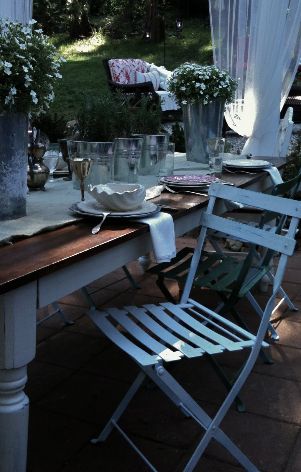 Shabby Bistro Chairs From Kmart French Country Cottage