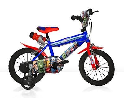 TOYS : JUGUETES - MARVEL   Avengers : Los Vengadores - Bicicleta infantil  Comprar en Amazon España