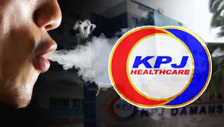 Pergi ke klinik untuk berhenti merokok bukan vape