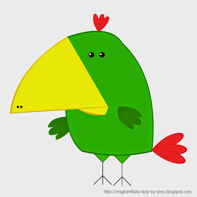 parrot bird clip art for teachers