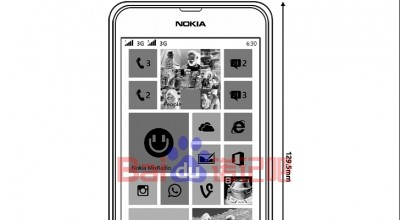 Nokia Lumia 630 Dual Kelak Dinamakan Nokia Lumia 635?